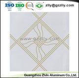 Elegantie klem-in het Decoratieve Plafond van de Raad van het Plafond van de Druk van de Deklaag van de Rol van het Aluminium