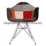 Со стороны EMS обеденный стул пластиковый корпус с металлическими ноги