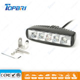 6pulgadas LED 15W luz automática de la luz de coche para la carretilla