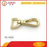 Crochets d'or de crabot de rupture d'émerillon en métal de logo fait sur commande
