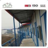 Baixo custo durável Prefab House com estrutura de aço leve