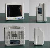 Монитор терпеливейшего монитора портативный ECG Китая с 12 индикацией цвета TFT дюйма