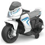 Езда на электрическом Bike мотоцикла младенца малышей с нажимом