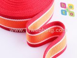 Tessitura a strisce del cotone/tessitura del Poli-Cotone per la cinghia della maniglia del sacchetto