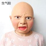 Máscara natural principal completa realista del látex para el disfraz cruzado de lujo de la alineada