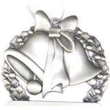 Medalha de prata feita sob encomenda de Bell do metal do presente por atacado do Natal