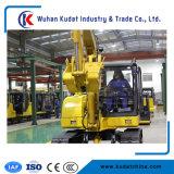 Chineaseエンジンまたはインポートされたエンジンを搭載する6ton掘削機Kd60