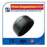 ASME B16.9 Wpb 12inch Sch40の炭素鋼の継ぎ目が無い電流を通された配水管のエンドキャップ