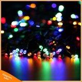 50LED/100/200 het ZonneLicht van Kerstmis van de Slinger van de Lichten van de LEIDENE Zonne LEIDENE van Lampen Fee van het Koord voor de Decoratie van de Partij van de Tuin van het Huwelijk Openlucht