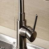 Pulvérisateur Pullable tournent d'eau chaude/froide du robinet de cuisine de tréfilage