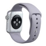 Cinturino di vigilanza grigio del silicone per il rimontaggio della fascia del silicone di Iwatch della vigilanza del Apple