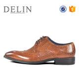 Commerce de gros dernière conception Hommes chaussures occasionnel en cuir véritable