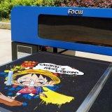 Основное внимание уделяется 6 Цветной принтер футболки с 1390 печатающей головки