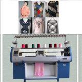 Двойной вязания метод и из жаккардовой ткани типа Cms трикотажная машины с плоской платформой