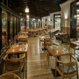 (Sc-711) het Dineren van het Restaurant Benen van de Lijst van het Gietijzer van het Onedele Metaal van het Meubilair