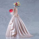 ウェディングドレスの甘い女の子のプラスチックモデル図