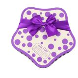 Precioso regalo de papel en forma de corazón/caja de embalaje Caja de Chocolate