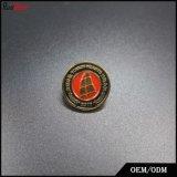 Distintivo d'argento personalizzato dell'ala dell'aquila con la spilla di sicurezza