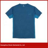 Camiseta ocasional respirable caliente de los hombres de la buena calidad del OEM de la venta (R13)