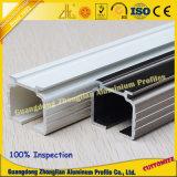 Het Profiel van het Spoor van de Uitdrijving van het aluminium voor het Spoor van het Gordijn