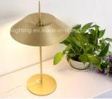 Luz simples da tabela de Iron&Aluminum da iluminação da mesa do diodo emissor de luz do projeto o mais novo moderno