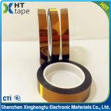 Fita ambarina de Polyimide da película do dedo dourado adesivo do silicone