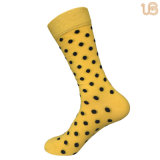 Мужчин точек гребень хлопка с радостью Sock качества
