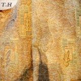 Vorhang-Gewebe gesticktes Chenille (FTH31081)