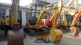 Utilisé au Japon la construction d'origine de la machine 5 tonnes mini pelle à chenilles Pelle hydraulique Komatsu PC55mr excavatrice chenillée