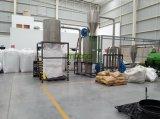Haustierplastikflaschenflocken, die das Waschen zerquetschen, Abfallverwertungsanlage trocknend