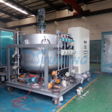 Máquina de mistura de óleo lubrificante móvel com aquecedor