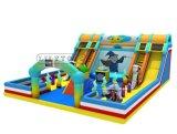 prix d'usine Inflatebl Boucner Caslte durables, gonflable Trampoline de nouvelle conception Faites glisser un terrain de jeux, Magic thème Funcity Aire de jeux gonflables