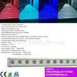 LED 18PCS*3W Mur de l'étape de la rondelle étanche Effet Lumière
