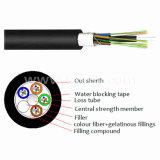 Los núcleos de 2-144 Cable exterior de fibra óptica para aplicaciones de redes de telecomunicaciones