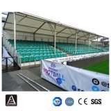 Bleachers d'acciaio provvisori permanenti della tribuna del campo atletico con le sedi di plastica
