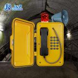 Op zwaar werk berekende Waterdichte Telefoon met Peiler & Hoorn, het Uitzenden van de Elektrische centrale Telefoon