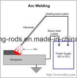 Elektroden van het Lassen van het Koolstofstaal van de Waterstof van Aws A5.1 E7018 de Lage In Dozen