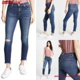 Женщин голубой Skinny Leggings джинсов (JL-SK076)
