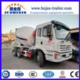 SaicIveco Genlyon Foton具体的な6X4 7/8cbmのミキサーのトラック