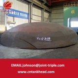 01-27 testa ellittica gigante dell'estremità inferiore della caldaia del acciaio al carbonio 8500mm*28mm