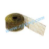 15 de Vlotte Spijkers 2.87*60 HDG van de Rol van de graad/het Roestvrij staal Galv van de Ring/van de Schroef