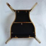 販売のためのYc-Zs62 Diorデザイン金のステンレス鋼の結婚式の椅子