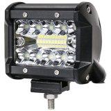 70W 4 pouces de barre de feux de travail de la lampe à LED pour moto hors route de bateau tracteur 4X4 4WD Chariot SUV ATV Spot Flood 12V 24V