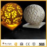 Приятный светодиодного освещения песчаника Тачки для использования внутри помещений для использования вне помещений оформление