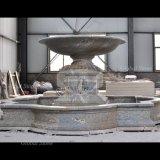 La sculpture en marbre de la nature de sculpture sur pierre Fontaine à eau (GSF-114)