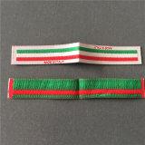 La calidad suave personalizada etiquetas tejidas etiquetas tejidas