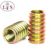 El conector del tornillo hexagonal tuerca/Insertar/todo tipo de tuerca con zinc