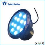 Licht van de Weg van de Schijnwerper van de Lamp van het Plein van de Weg van de Weg van de LEIDENE het OnderwaterTuin van de Lamp Waterdichte Heldere RGB IP68 36W Lichte Vierkante