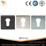 Deckel Quare Rosette-Firmenschilder (ZR17/CL) sperren