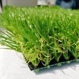 Erba artificiale per il prato inglese del giardino ed il tappeto erboso sintetico